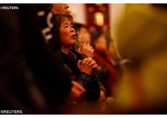 圣诞节在中国:许多人愿意与主相遇