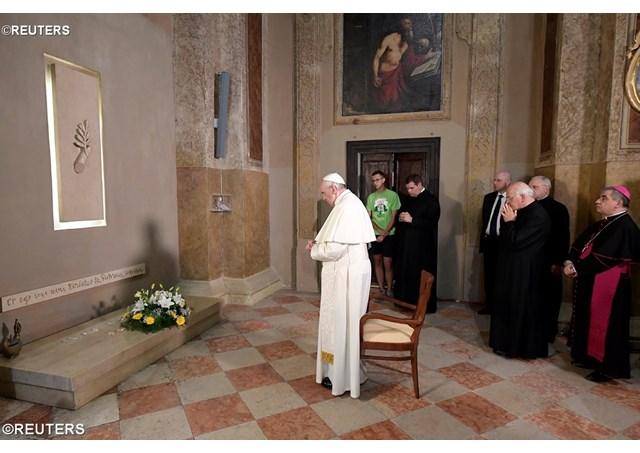 教宗方济各:马佐拉里神父勉励我们做穷人的教会,寻找远方的人