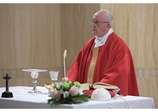 教宗清晨弥撒:认识真正的自己,承认自己是罪人,与耶稣相遇