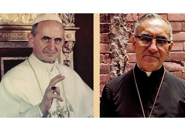 真福保禄六世教宗和罗梅洛总主教即将列入圣品