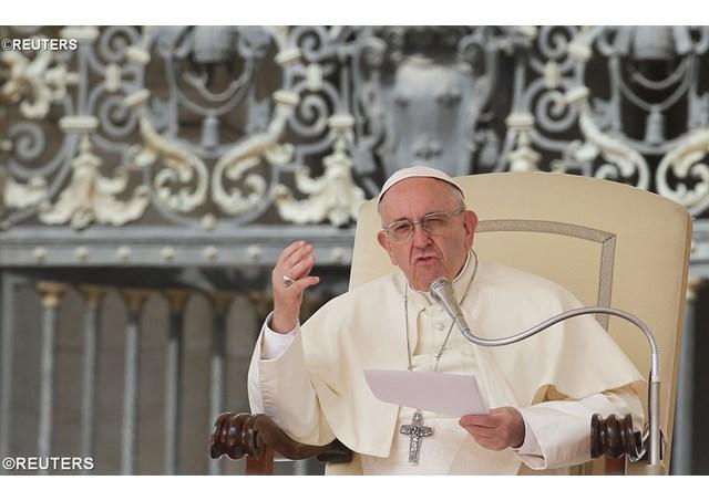 教宗推文2018年4月26日