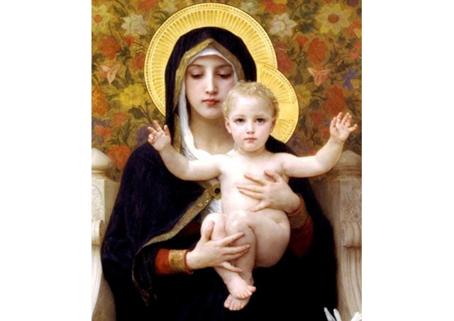 圣母抱耶稣   rv