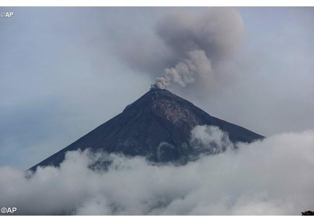 危地马拉火山爆发,教宗提拨援助善款