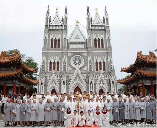 北京:北京教区西什库主教座堂重修感恩及祭台奉献礼