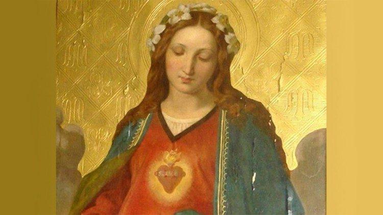 教宗推文2018年9月8日:愿童贞玛利亚帮助我们喜悦地顺从天主有关我们