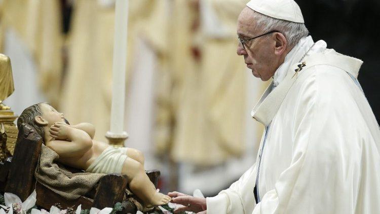 教宗推文2019年1月12日