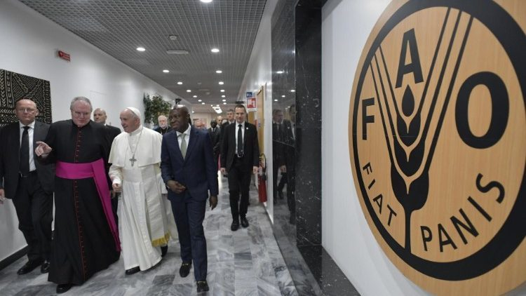 教宗接见国际农发基金员工:让爱来战胜人类的不平等
