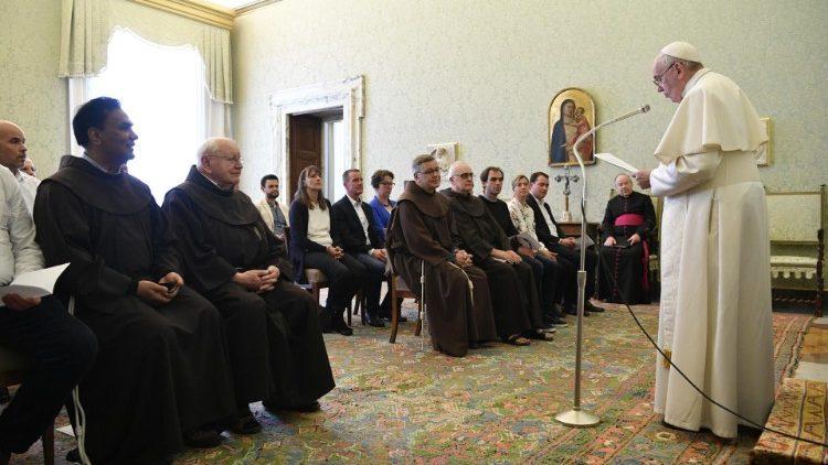 教宗方济各:唯有聆听上主,教会才能真正更新